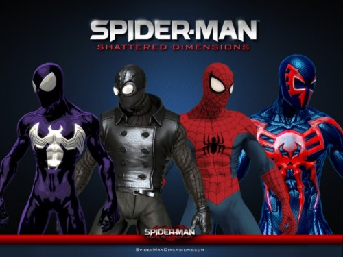 Spider Man Shattered Dimensions Spider Man