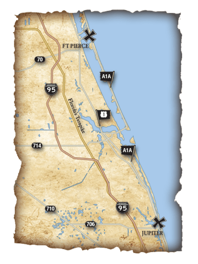 Castaways Map Overview