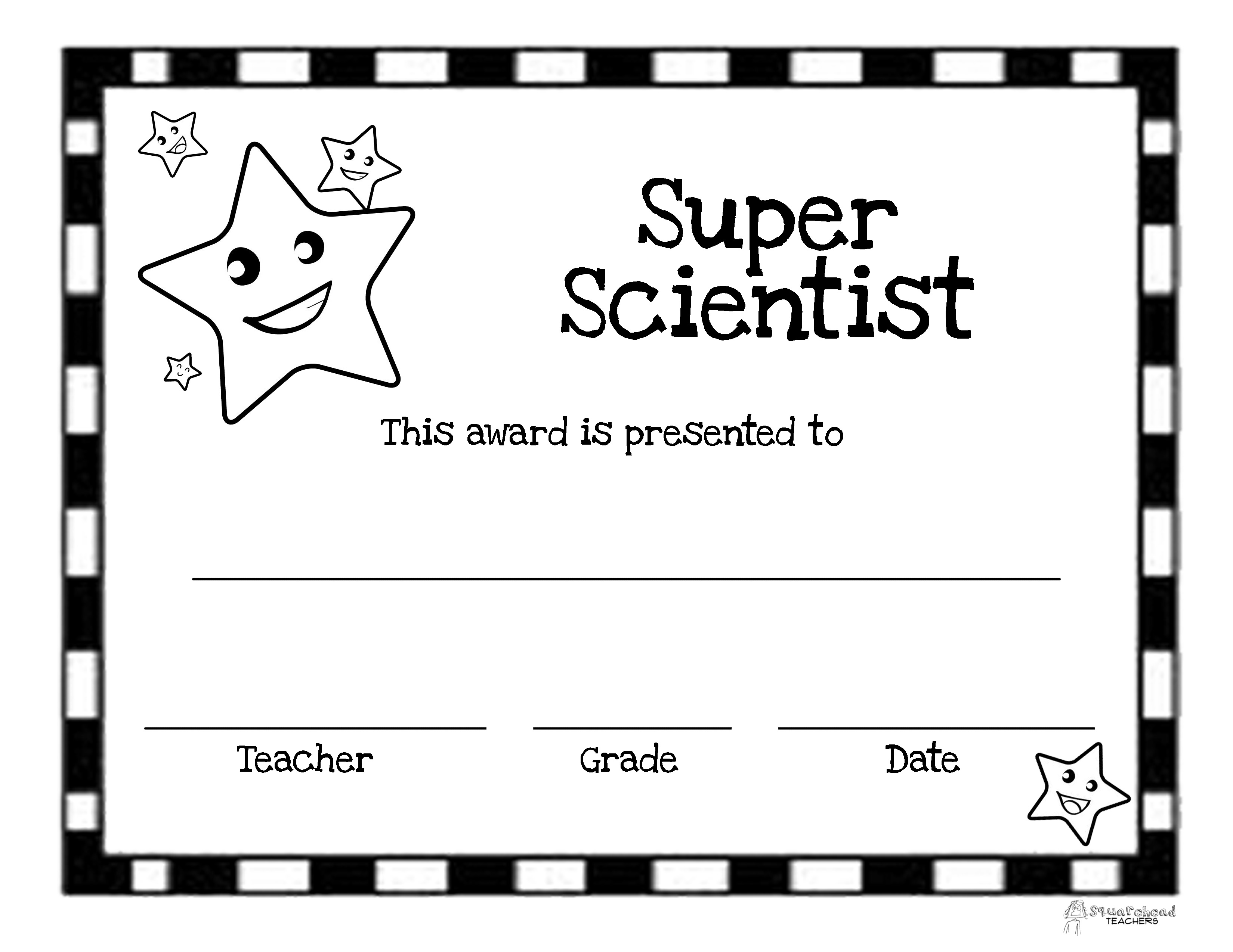 End Of The Year Awards 44 Printable Certificates