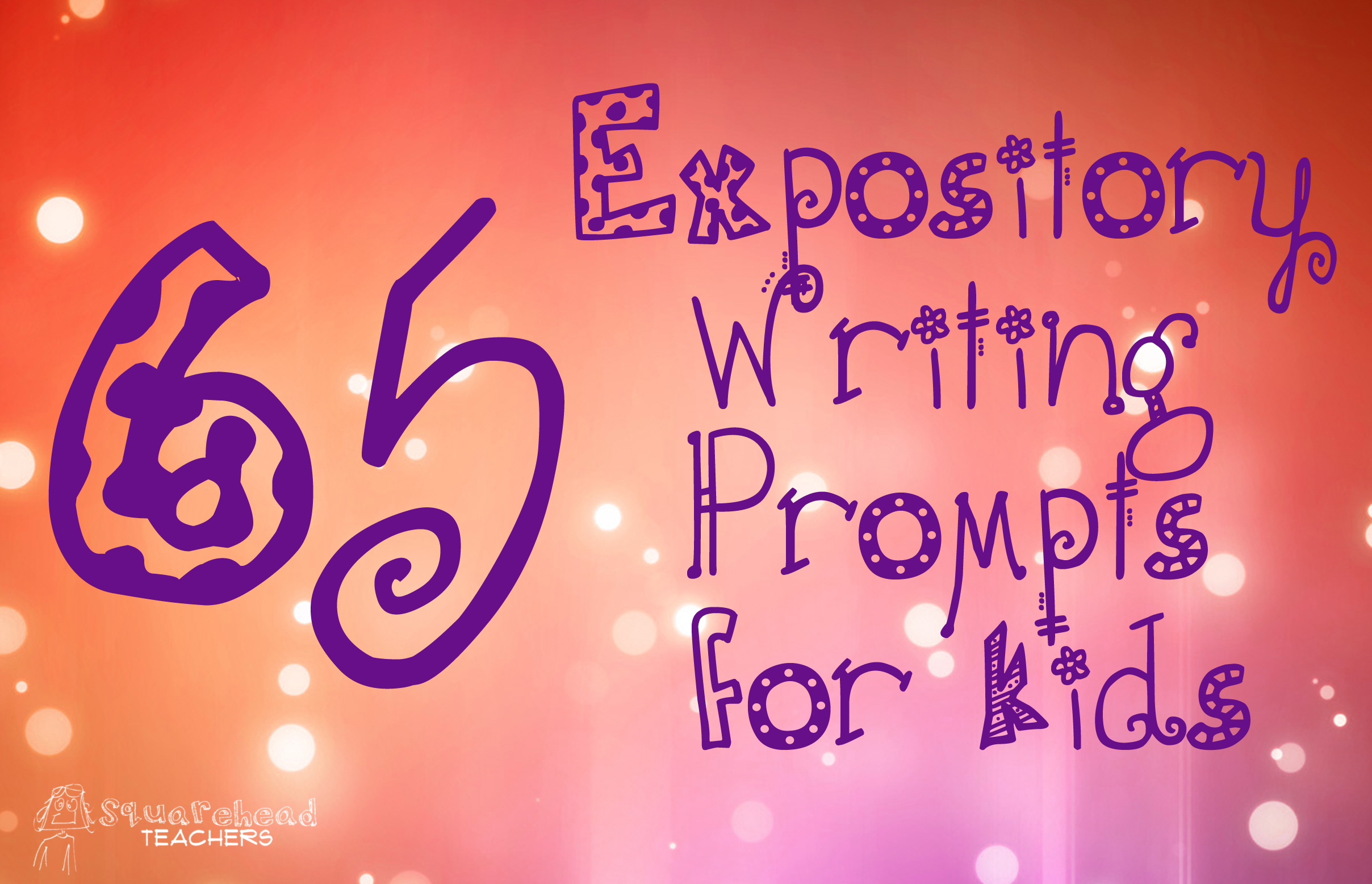 65 Expository Prompts For Kids