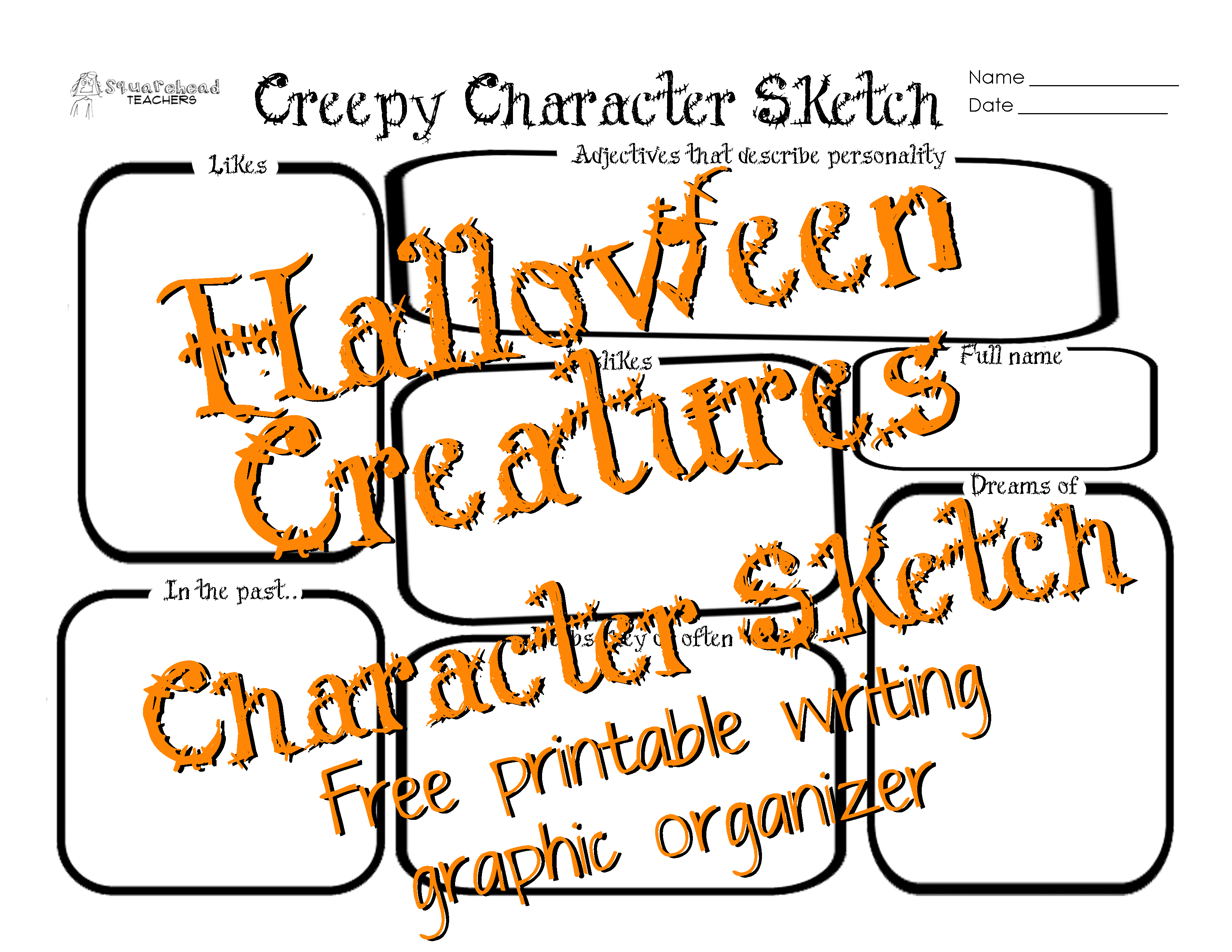 Halloween Creatures Crafts Amp Writing Project For Kids