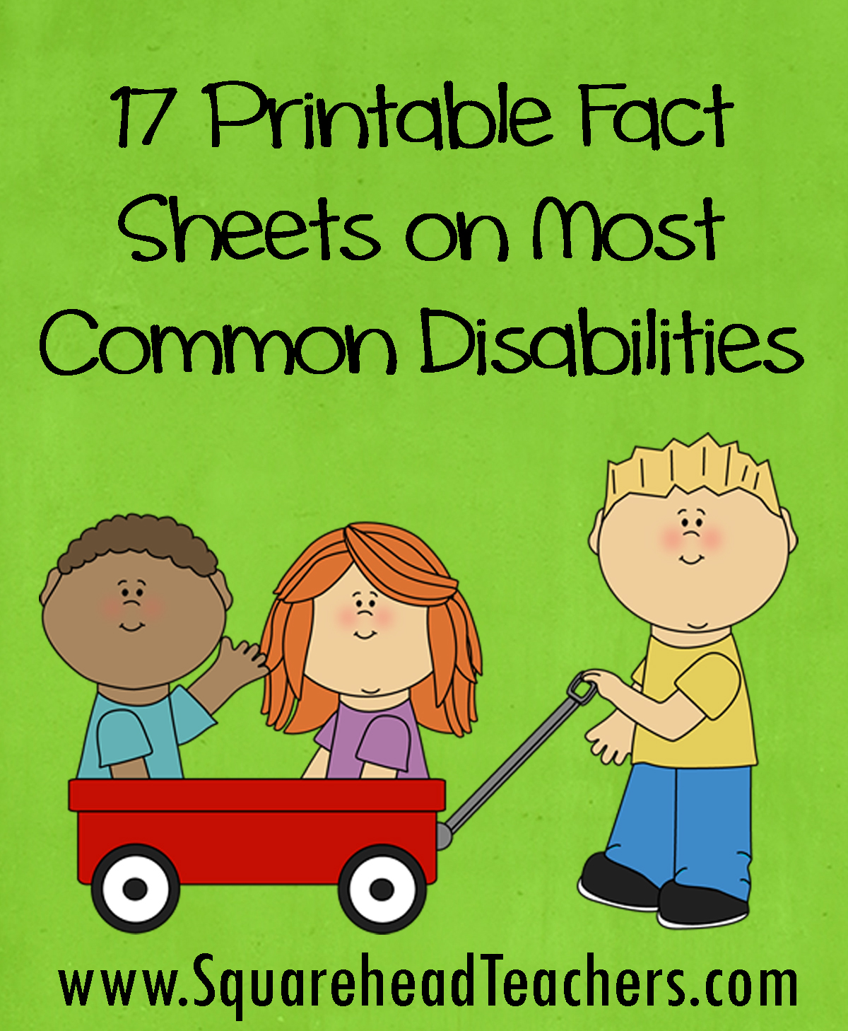 Common Disabilities Fact Sheets Printable