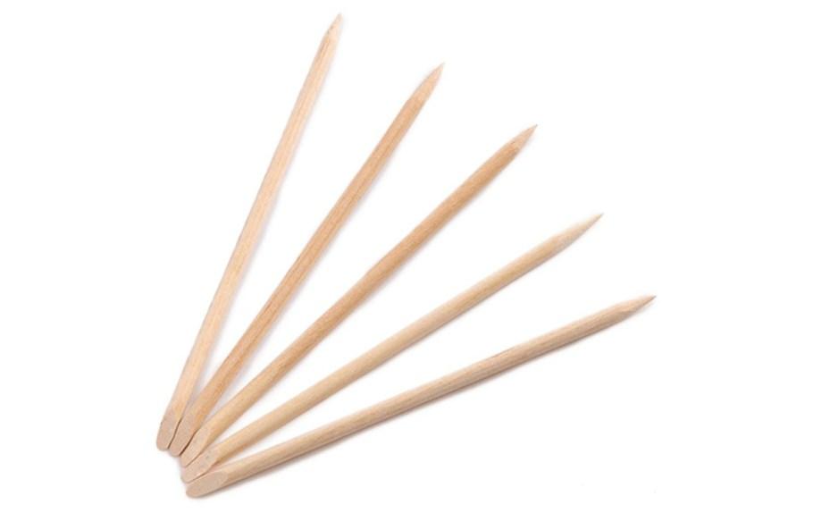 orange nail sticks