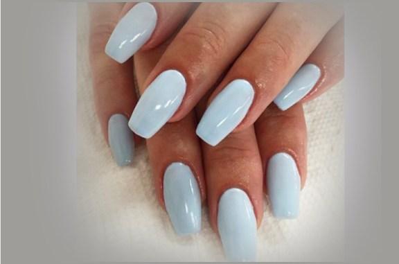 coffin v shape nails