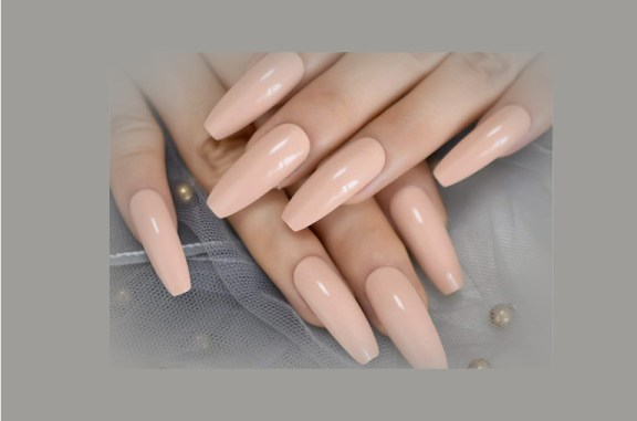 how to do coffin shape nails