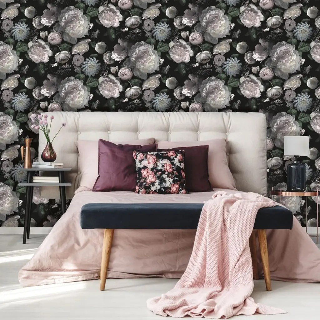 Best Wallpaper Patterns For Small Rooms Small Space Living