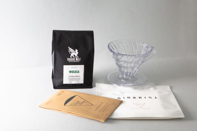 Wosasa Filter Coffee V60 Hario  Dripper Pack Fast and Cloth Filter
