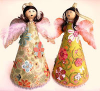Beautiful Angel Ornaments to Craft