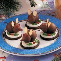 Christmas Mice Cookies Recipe