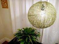 DIY String Pendant Light, Very Cool
