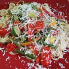 Lower Fat Pasta Primavera, Refreshing Summer Dish