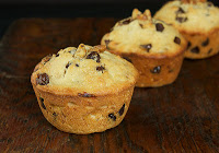 Chocolate Chip Banana Muffins: A Little Bit of Chocolate Heaven
