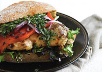 Chimichurri Grilled Chicken Sandwiches: Yummy Diet Recipe