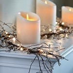 Sparkling Christmas Twig Decor