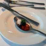 Appetizer on a Spoon: Yum