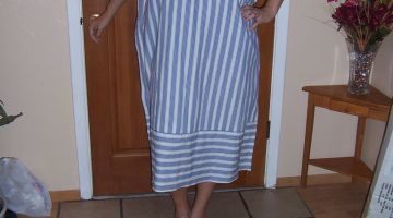 Stay Cool Tip: Sew a Caftan or Beach Cover Up