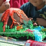 Easy to Make Volcano Cake