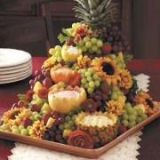 Cascading Fruit Centerpiece; Taste of Home