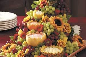 Awesome Cascading Fruit Platter or Centerpiece