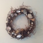 DIY Shabby Chic Coastal Living Wreath
