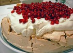 Pomegranite Pavlova