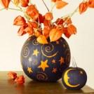 pumpkin, painted