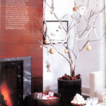 Potted Branch Holiday Tree Photo: Style At Home