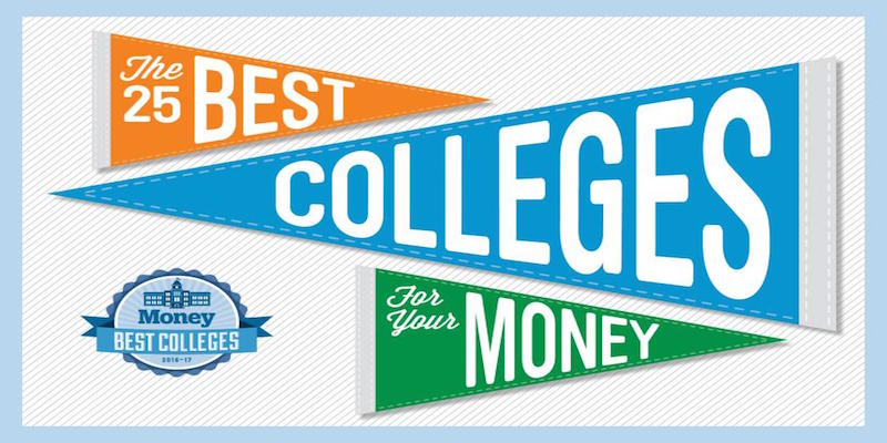 What Makes a College a Great Value?