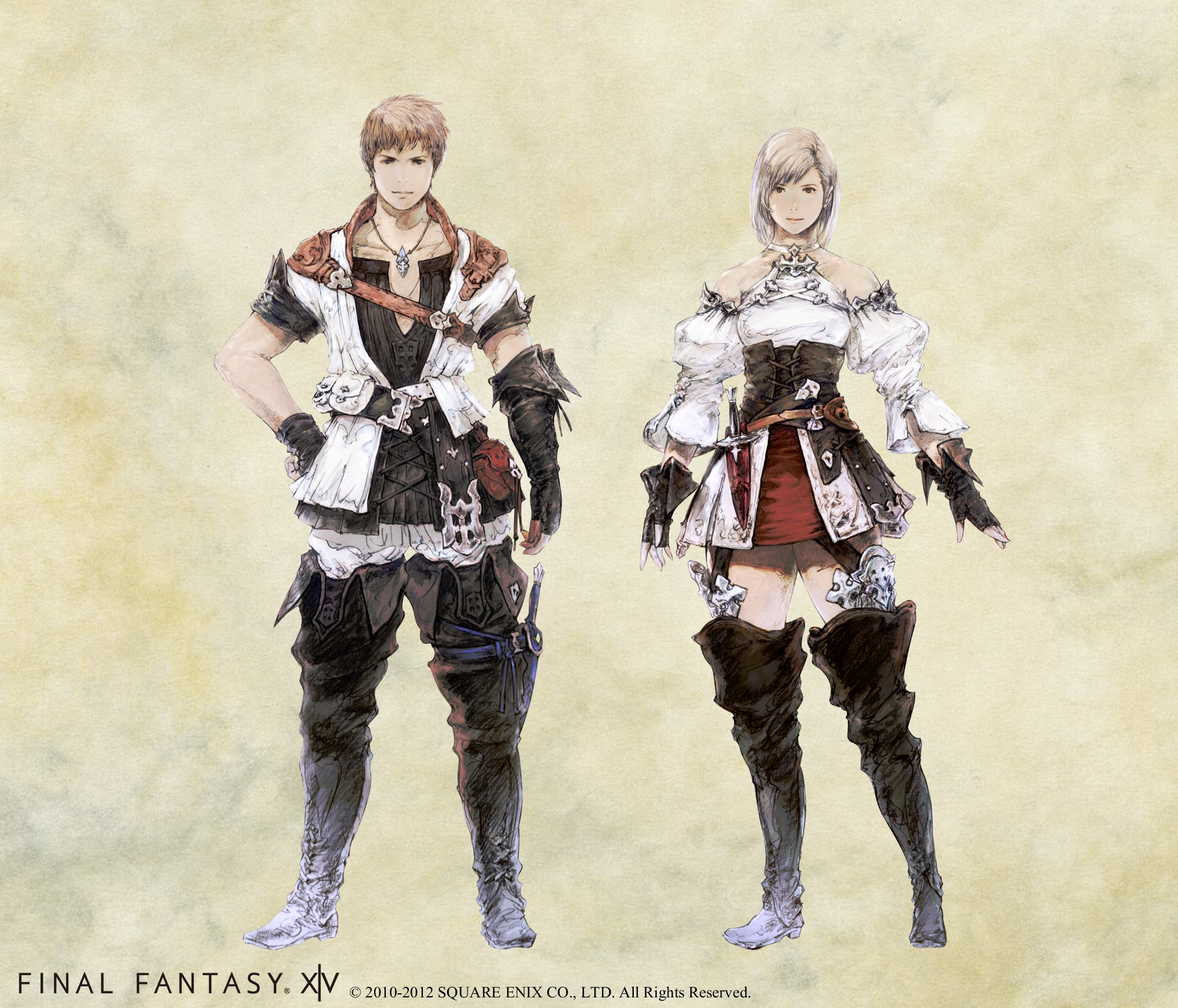 Final Fantasy XIV 20 Character Classes Introduced And New Artwork Released SQUARE PORTAL