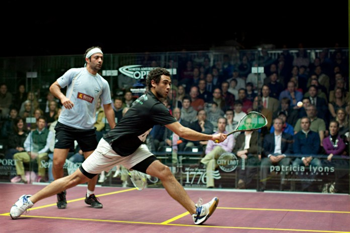 Ramy Ashour and Amr Shabana demonstrate Egypt's position as a powerhouse in world squash