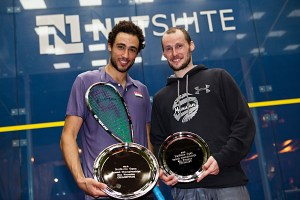 Trophy boys¨Ramy and Greg after the final