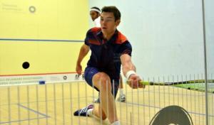 Adrian Waller in action