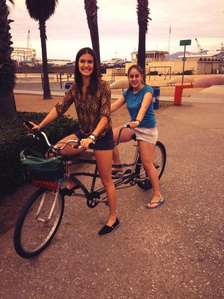 Sam Cornett and Tesni Evans take to the streets looking for sponsors in Los Angeles
