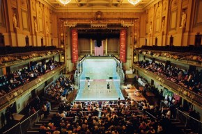 Squash at Boston Symphony Hall