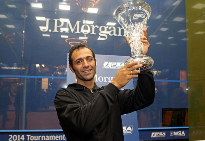 Amr Shabana, the ToC champion, is unseeded in Chicago