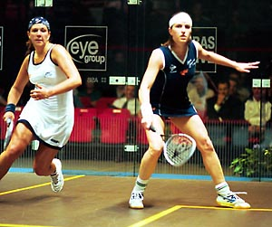 Cassie and Fitz fight it out in the British Open