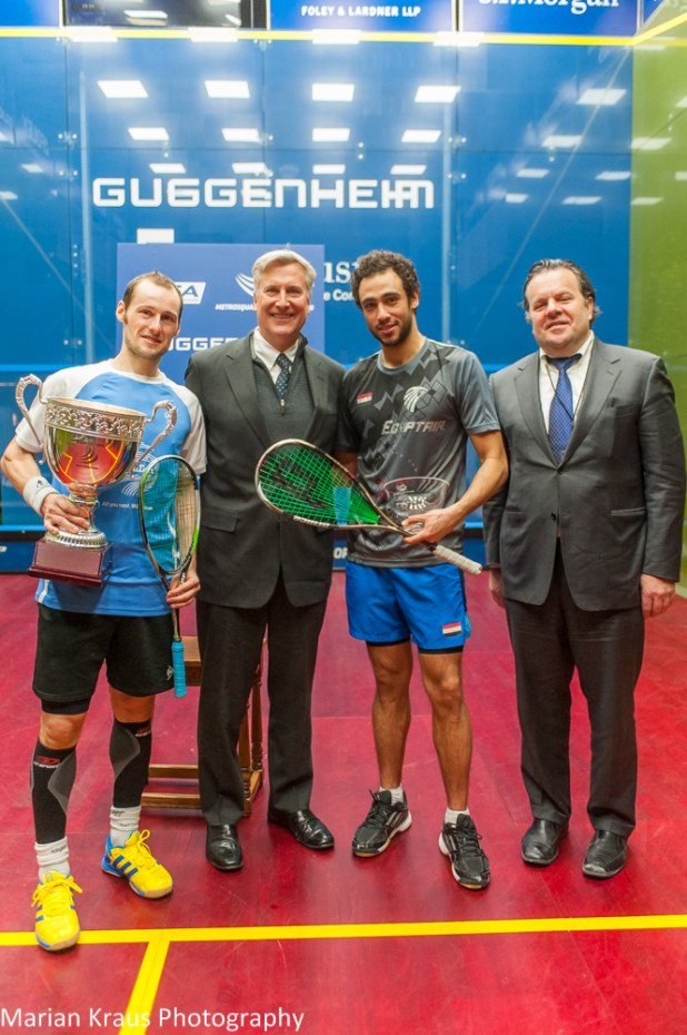 Trophy time for Gaultier