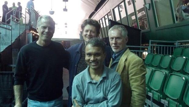 John, Shubho and Dan meet Jonathon Power