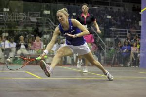 Laura Massaro wins the world title