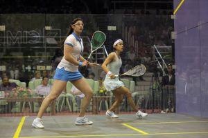 Nour El Sherbini shocks Nicol David