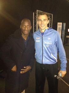 World champion Nick Matthew meets Hull's Sone Aluko