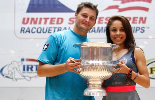 DOMINANT: Kane Waselenchuk and Paola Longoria