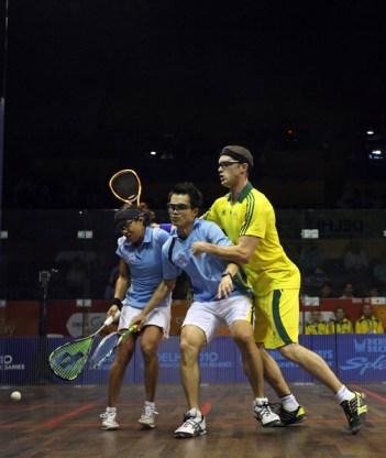 Ong Beng Hee and Nicol David are overshadowed by Australia's David Palmer