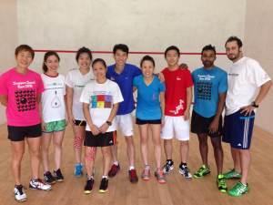 The Singapore team