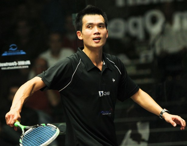 Ong Beng Hee in action