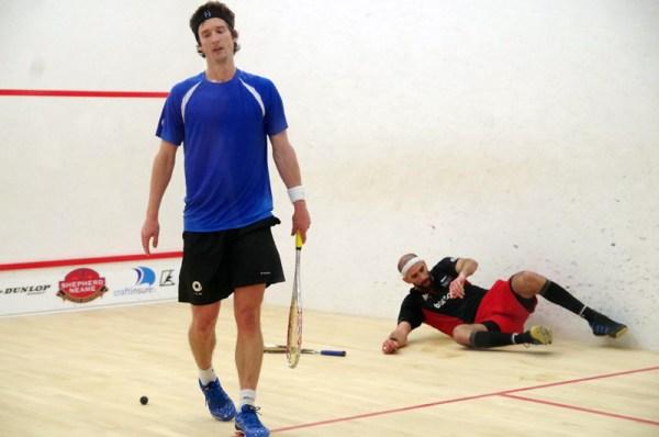 Jonathan Kemp and Steve Finitsis play hard but fair