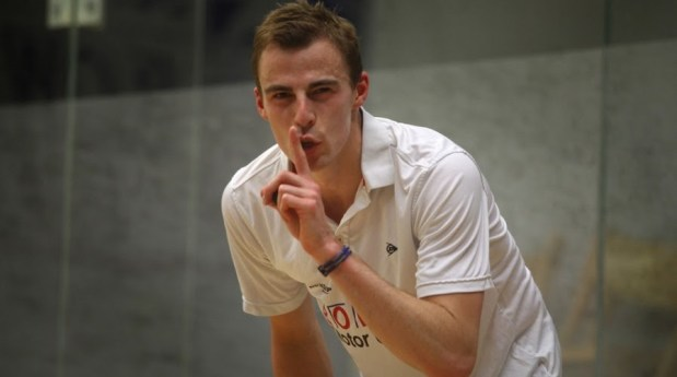 Nick Matthew will be keeping things under control at Harrogate
