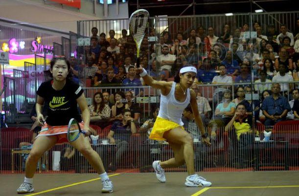 Nicol David is looking to make a major statement in Hong Kong