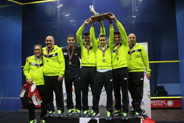 Egypt celebrate their success