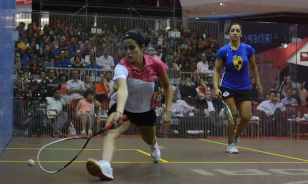 Nour El Tayeb is enjoying a spell of outstanding form